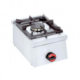 Cucina inox 1 fuoco da banco