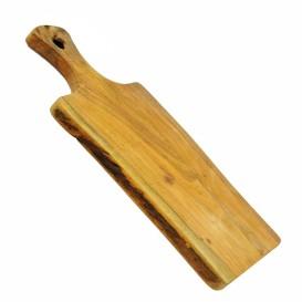 Tagliere in legno con manico
