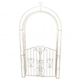 Arco Bianco Con Cancello