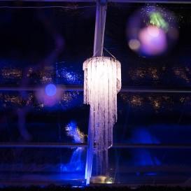 Lampadario Cristal Grande