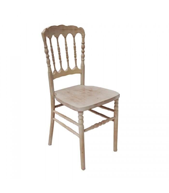 Sedia parigina bianca per ricevimenti formali e non for Sedie e sgabelli