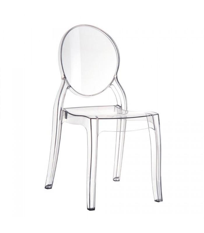 Noleggio sedia Ghost: le sedie trasparenti